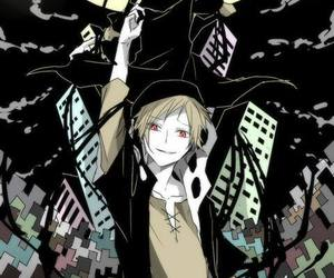 anime boy, mekaku city actors, and anime image