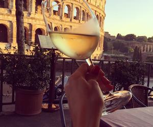 luxury, rome, and wine image