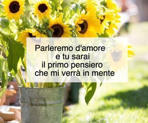 amore, flower, and frasi image