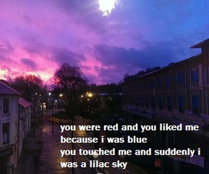 blue, quotes, and halsey image