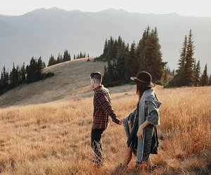 love, nature, and boy image