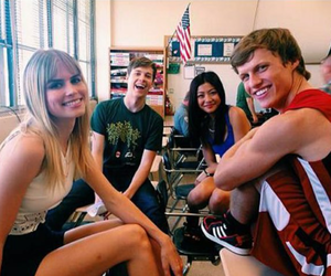 scream, riley, and carlson young image