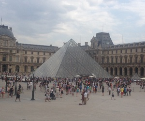france, paris, and the lourve image