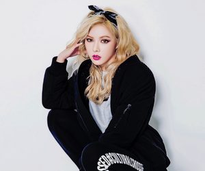 blonde, girl, and korean image