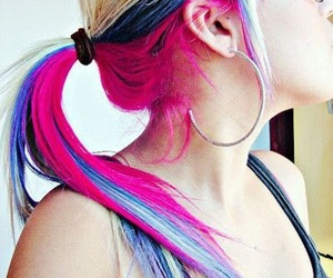 colors, exotic, and hair image
