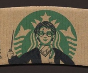 starbucks and harry potter image