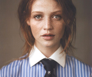 freckles, Cintia Dicker, and model image