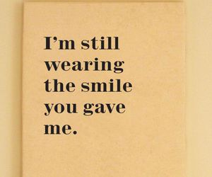 smile, quote, and love image