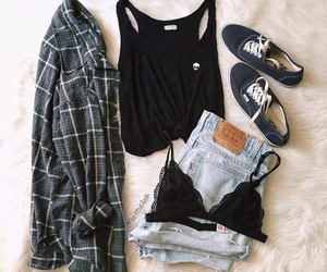 outfit, clothes, and bra image