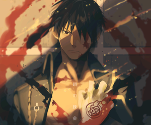 roy mustang, fullmetal alchemist, and anime image