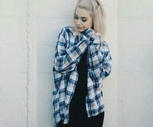 girl, shirt, and grunge image