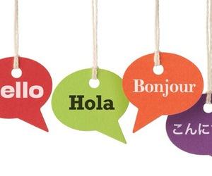hello, international, and languages image
