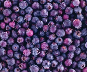 fruit, food, and purple image