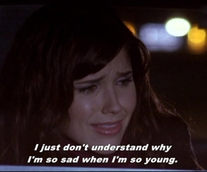 depressed, depression, and subtitles image