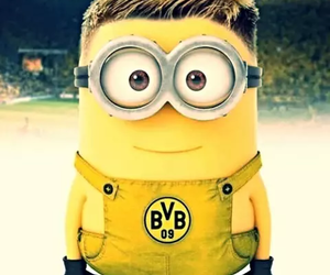 minions, funny, and bvb image