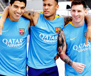 neymar, msn, and messi image