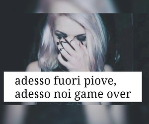 frasi, game, and over image