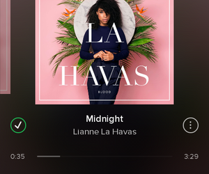 midnight, spotify, and lianne la havas image
