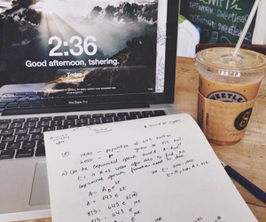 cafe, food, and study image