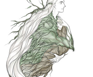 fan art, thranduil, and oropher image