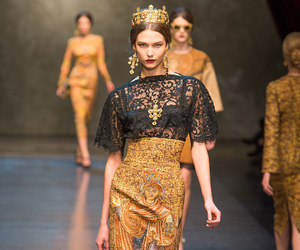 catwalk, Dolce & Gabbana, and model image