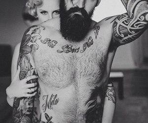 art, bodyart, and tattoo image