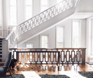 interior, house, and stairs image