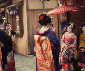 japanese and kimono image