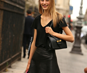 girl, haute couture, and model image