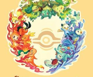 pokemon, starters, and anime image