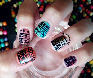 nails, pretty, and trival image