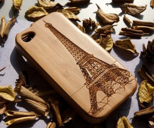 iphone, paris, and eiffel tower image