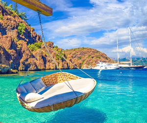 paradise, perfect place, and sea image