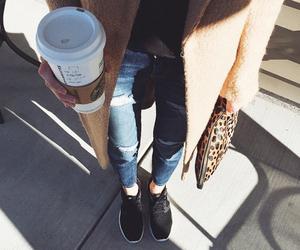 coffee, fashion, and black image