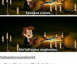 funny, supernatural, and gravity falls image