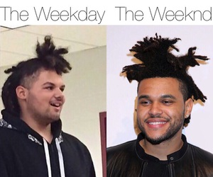 lol, the weeknd, and meme image