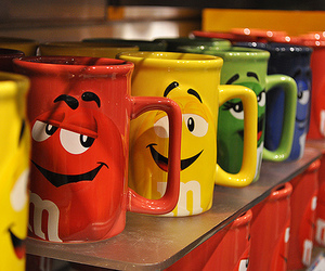 colorful, MM, and cups image