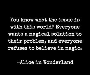 alice in wonderland, believe, and magic image