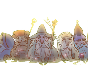 gandalf, radagast, and mithrandir image