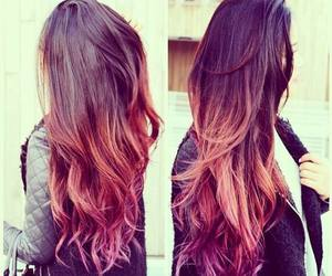 girl, pink, and look image