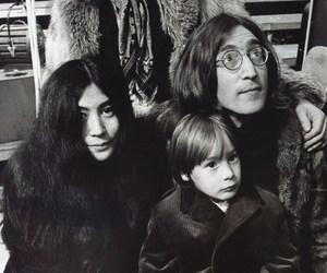 john lennon, Brian Jones, and julian lennon image