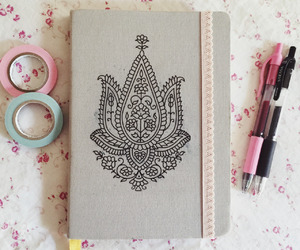 drawing, notebook, and art image