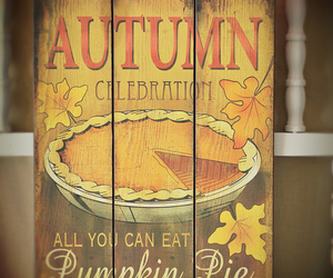 autumn and pumpkin image