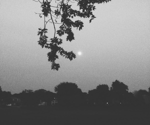 black and white, faded, and feelings image