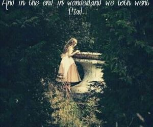 alice, love quotes, and wonderland image