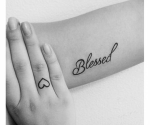 blessed and Tattoos image
