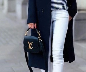 street fashion, street style, and stripes image
