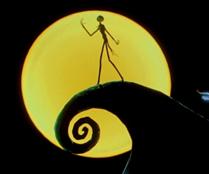 disney, lockscreen, and the nightmare before christmas image