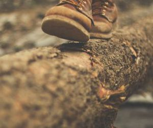 boots, shoes, and autumn image