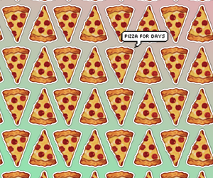 pizza, wallpaper, and tumblr image